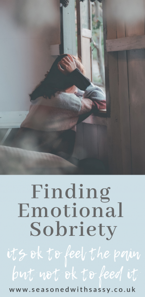 Finding Emotional Sobriety