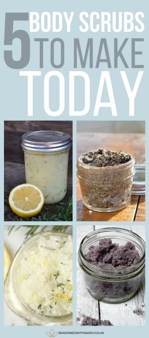 5 body scrubs to make today