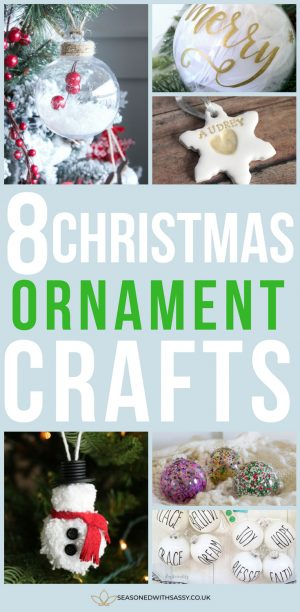 8 christmas ornament crafts