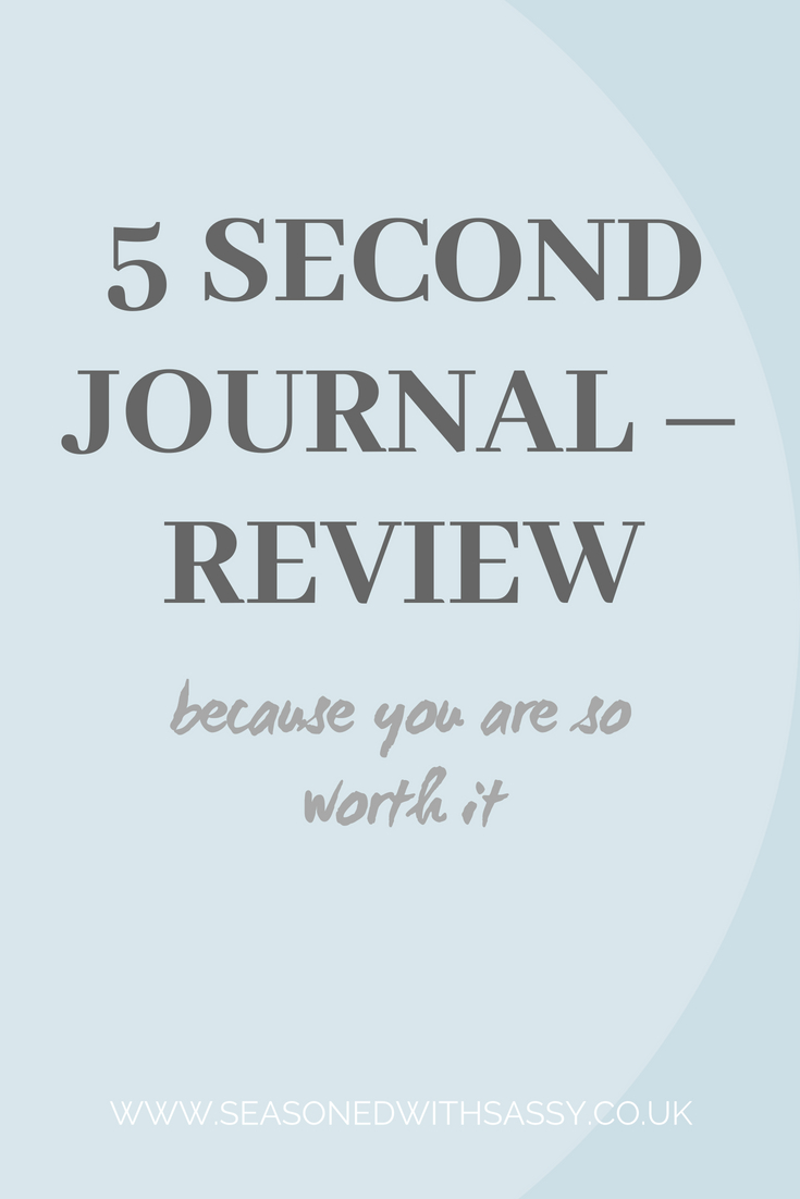 5 SECOND JOURNAL – REVIEW 1
