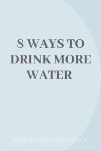 8 Ways to Drink More Water