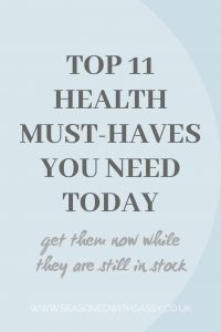 Top 11 Health Must-Haves You Need Today