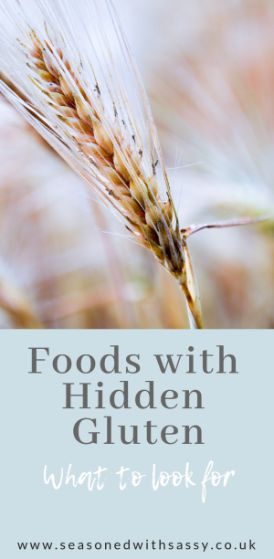 Foods with Hidden Gluten 1