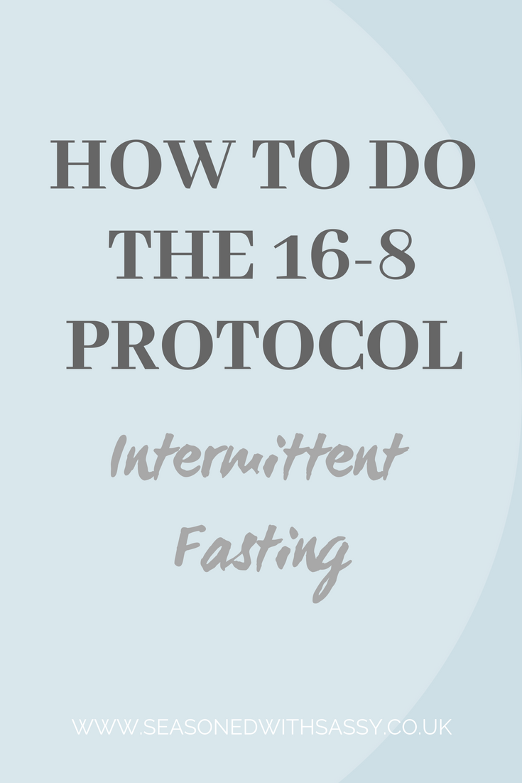 How to do the 16 8 Protocol