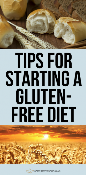 Tips for Starting a Gluten Free Diet