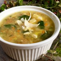 Spicy Leftover Turkey and White Bean Soup