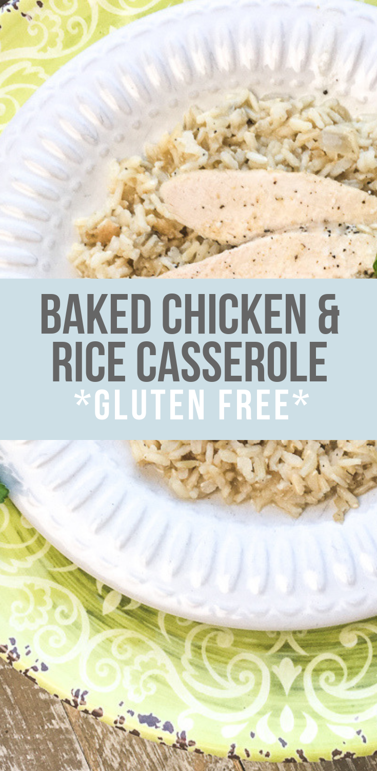 Baked Chicken Rice Casserole