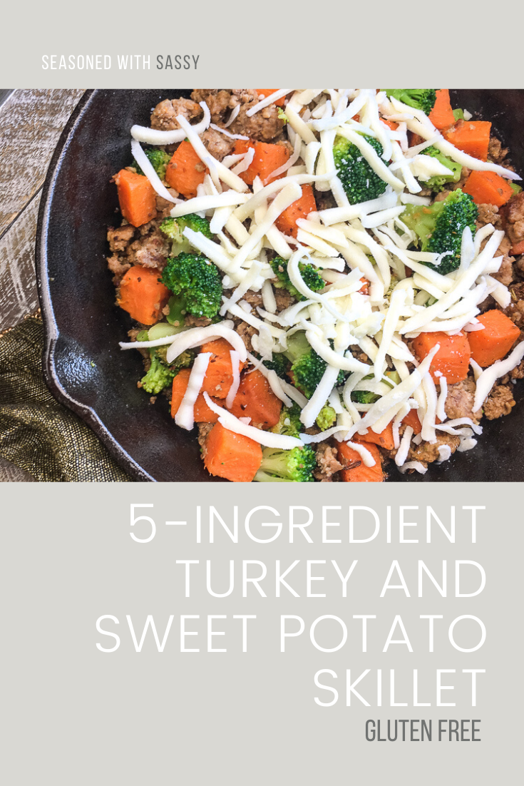 5-Ingredient Turkey and Sweet Potato Skillet