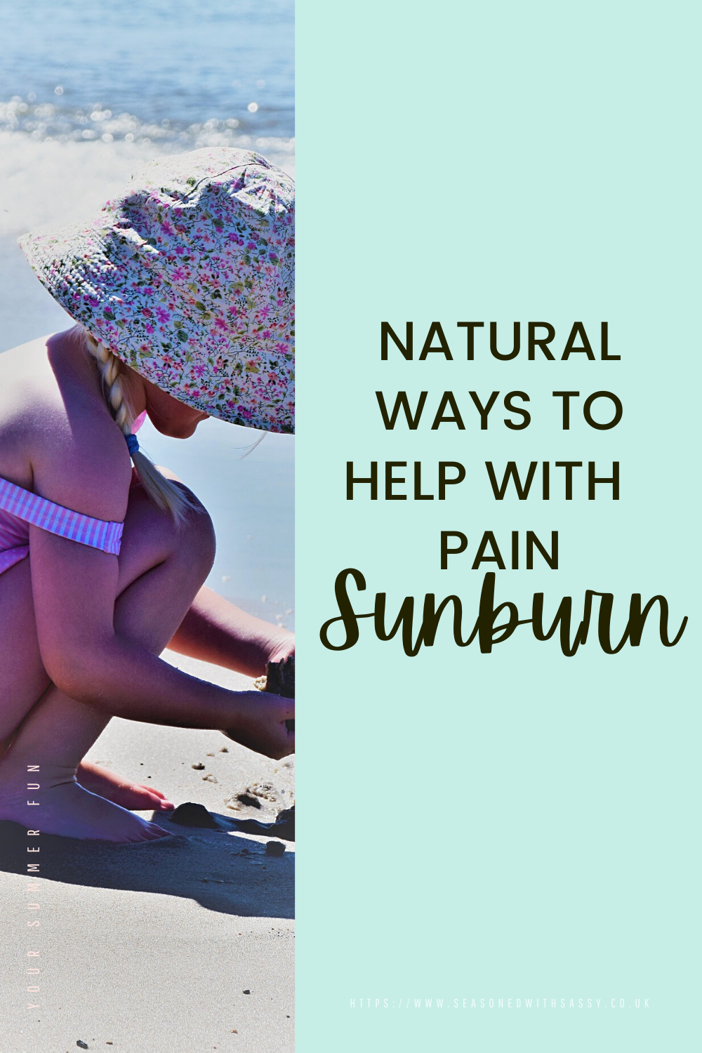 Natural Ways to Help With Sunburn Pain